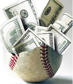 MLB baseball money