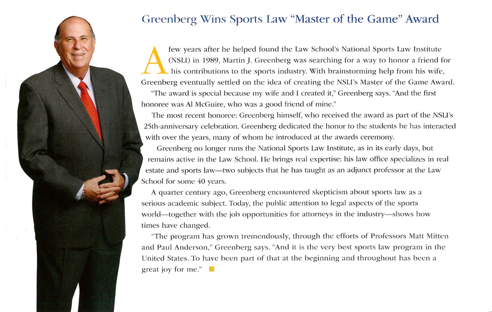 Greenberg-Wins-Sports-Law-Master-of-the-Game-Award