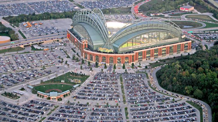 Miller Park stadium Milwaukee