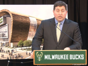 Milwaukee Bucks Peter Feigin | Sport$Biz | Martin J. Greenberg Attorney