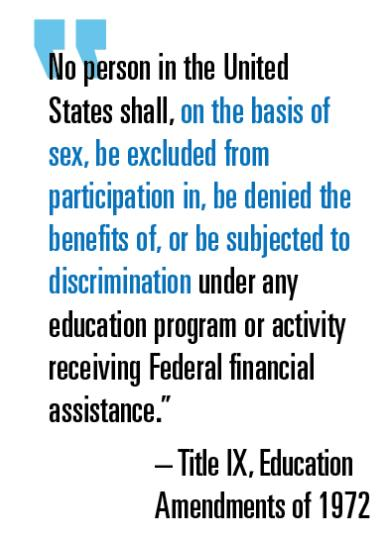 Title IX Education Amendments | Marting J Greenberg | Sport$Biz